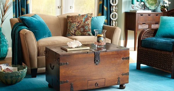 brown and teal living room ideas peacock d 233 cor accessories amp design ideas ǀ pier 1 imports 25610