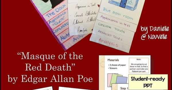"an analysis of the symbolism in the masque of the red death a short story by edgar allan poe A summary of themes in edgar allan poe's poe's short stories ""the masque of the red death"" gothic terror becomes a love story."