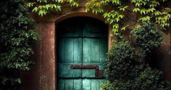 what's through the door?