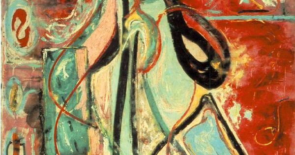 The Moon Woman ~Jackson Pollock | Lone Quixote | JacksonPollock pollock AbstractExpressionism