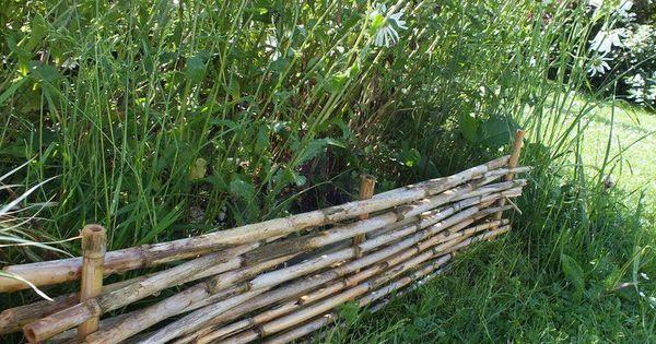 Faire soi m me des bordures de jardin tuto jardin diy for Bordure de jardin en bambou