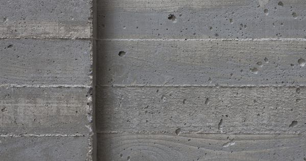 A Board Form Finish Is Achieved By Casting Thin Concrete