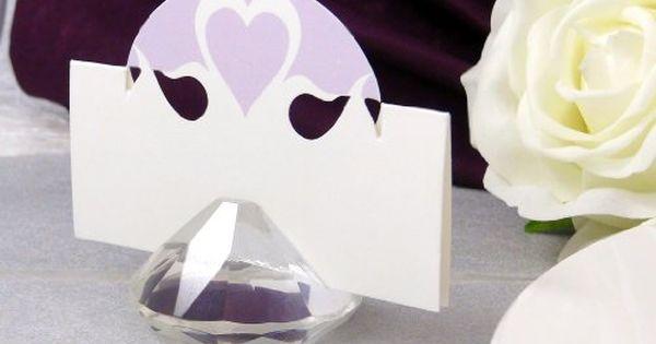 Tischkartenhalter Fast Kostenlos Tischkartenhalter Diamant Aus