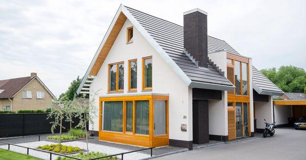 Home architect jeroen dingemans vrijstaande huizen pinterest moderne huizen en huizen - Entree eigentijds huis ...