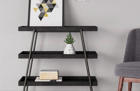 Hillside Console Table Black Project 62 Console Table Furniture For Small Spaces Project 62