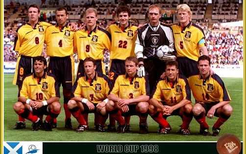 Fan Pictures 1998 Fifa World Cup France Scotland Team Fifa World Cup France Scotland World Cup