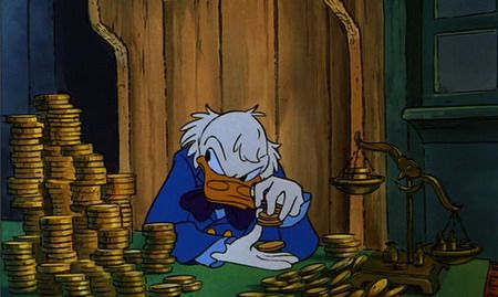 Scrooge Mcduck Christmas Carol.Disney Scrooge Mcduck Christmas Carol Gold Ebenezer