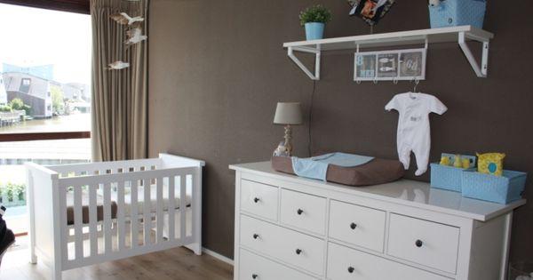 Babykamer babyroom pinterest babykamer kinderkamer en babykamers - Kinderkamer taupe ...