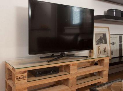 Mueble De Tv Con Palets Reciclados Diy Pinterest Tvs