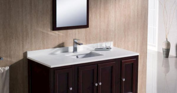 Traditional Bathroom Vanity w/ 2 Side Cabinets at Menards  bathroom