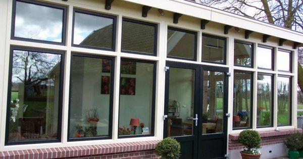 Voorbeeld van een serre holten pinterest eethoek interieurs en decoratie - Huis decoratie voorbeeld ...