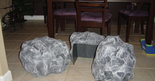 Rock On How To Make Fake Rock From Cardboard Phone Book