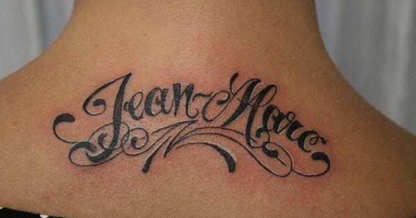 Name tattoo ideas celebrities family children sports the deceased tatouages de nom - Tatouage amour perdu ...
