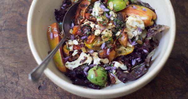 Heirloom Tomato Salad. food salad