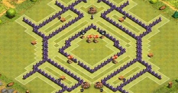 royal keygen castle clash base