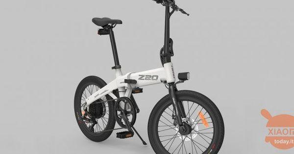 Xiaomi Himo Z20 E La Nuova Bici Elettrica Pieghevole Che Promette Autonomia Fino A 80 Km Bici Bicicletta Elettrica Bicicletta