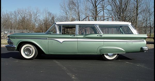 1959 Edsel Villager Station Wagon Cars From The 1950 S
