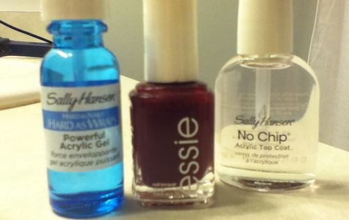 DIY Shellac...Just tried it, probably the best thing I've found on Pinterest