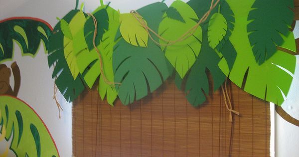 Jungle Room Valance Jungle Theme Hot Glue Guns And Easy