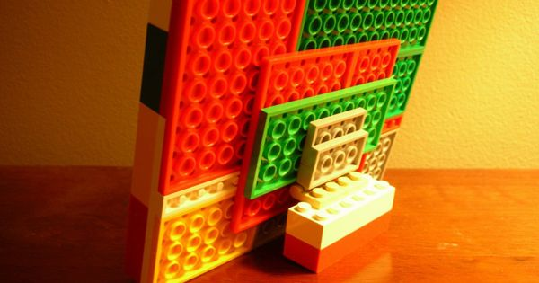 LEGO Photo Frame DIY LEGO Gifts amp Projects Pinterest