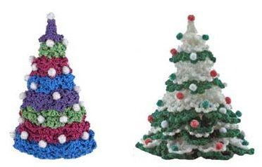 Albero Di Natale Uncinetto.Alberi Di Natale Fatti Ad Uncinetto Tridimensionali E Decorativi Modelli Natalizi All Uncinetto Alberi Di Natale Natale All Uncinetto
