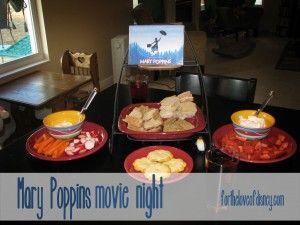 Disney Family Day Mary Poppins Movie Night Disney Party Planning Marypoppins Teaparty Mary Poppins Movie Movie Night Family Movie Night