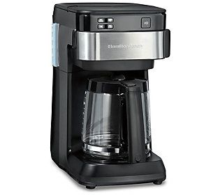Hamilton Beach Smart 12 Cup Coffee Maker Qvc Com In 2020 Coffee Coffee Maker Best Coffee Maker