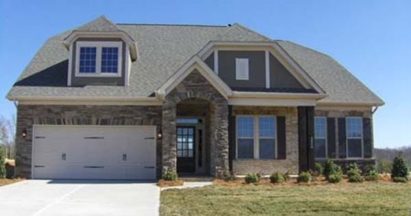 Somerset Model 3 Bedroom 2 Bath New Home In Mint Hill North Carolina Telfair New Homes Home Builders Mint Hill
