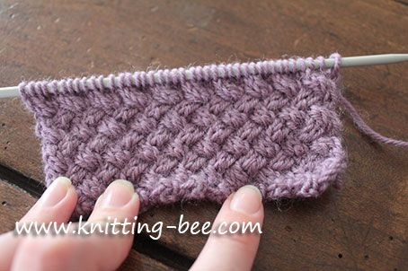 Knitting Baskets Uk : Big basket weave directions for an afghan pattern ehow