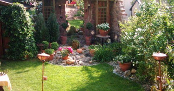 Toskana Im Reihenhausgarten Bilder Und Fotos Garten Gartengestaltung Garten Gestalten
