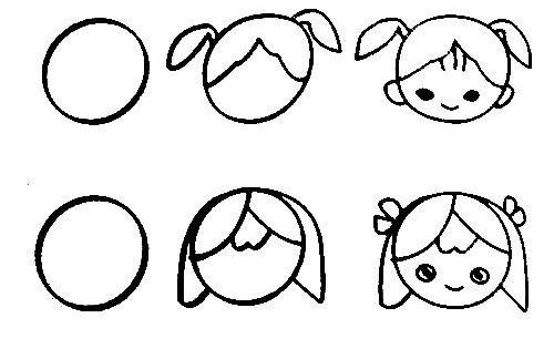 Teach Kids Draw People Page,free Printable Kids Step By