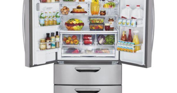 Lg Lmx31985st Super Capacity 4 Door French Door Refrigerator With Double Fridge French Door French Door Bottom Freezer Refrigerator French Door Bottom Freezer