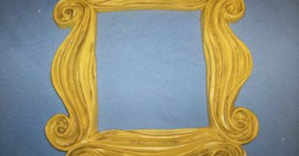 friends tv show peep hole picture frame the original