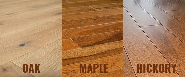 Oak Flooring Vs Maple And Hickory Flooring Homeflooringpros Com Hickory Flooring Maple Floors Flooring