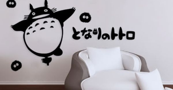 totoro wall decal - | Totoro | Pinterest | Totoro, Decals and Search