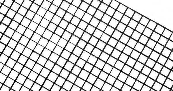 Fencer Wire 4 Ft X 50 Ft 16 Gauge Black Pvc Coated Welded Wire Fence With Mesh Size 1 2 In X 1 2 In Wv16 B4x50mhh The Home Depot Welded Wire Fence Fencer Wire Wire Mesh
