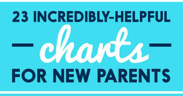 23 Incredibly Helpful Charts For New Parents ** NO baby should have anything more than breastmilk or formula until at least 6 months per AAP & WHO due to virgin gut***