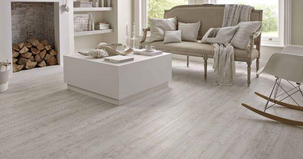 Painted Wood Floor Kp105 White Painted Oak Wood Vinyl