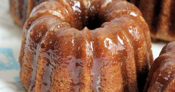 Glaze, Banana cakes and The o'jays on Pinterest