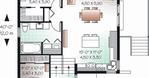 Plano vivienda planos pinterest casa oficinas y for Planos de oficinas pequenas