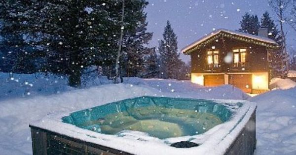Hot Tub I Can Enjoy Outside In The Snow With Beer Hot Pools Spa Hot Tubs Hot Tub