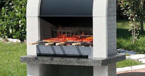 Barbecue Fixe Fonctionnel Et Esth Tique Dans Le Jardin Moderne Asador Parrilla Y Horno