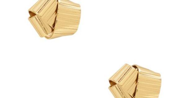 Kate Spade Curling Ribbon Earrings