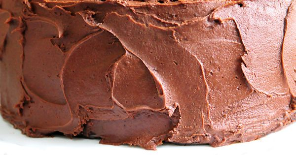 Perfect Chocolate Buttercream Frosting Recipe (goes with Best Chocolate Cake Recipe {Ever}