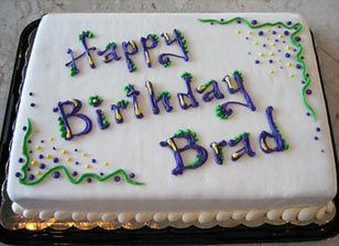 Admirable Simple Sheet Cakes From Alpha Delights Green Bay Area Wisconsin Funny Birthday Cards Online Sheoxdamsfinfo