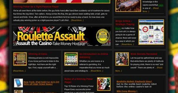 Gambling websites for sale