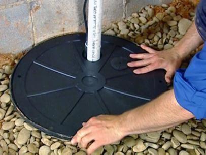 How To Install A Sump Pump Sump Pump Sump Pump Installation Sump Pump Drainage