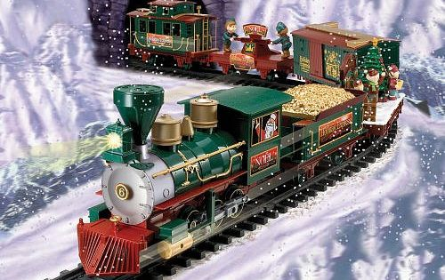 Toy Trains And Christmas : Eztec north pole express christmas train set rc g