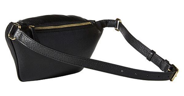 Michael Michael Kors Rhea Zip Belt Bag Black 6pm Com Michael Kors Kor Belt Bag