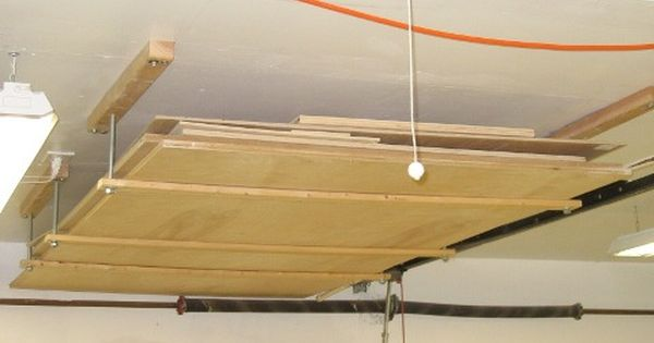 How do you store 4x8 plywood sheets in your tiny shop? - by Jason ...